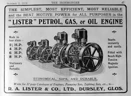 list of engines r a lister and co engines graces guide