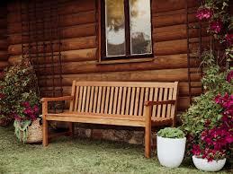 panchina in legno da esterno panchina da giardino in legno di balau 180cm java beliani it