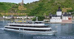 rhine river cruises germany german castles rhein cruise map mosel