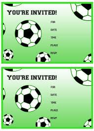 soccer birthday invitations dhavalthakur com