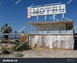 old motel on salton sea stock photo 20740645 shutterstock