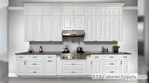 gray kitchen cabinets with white crown molding hudson white ready to assemble kitchen cabinets