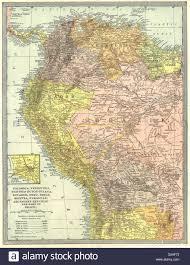 Colombia South America Map by South America Nw Colombia Venezuela Ecuador Peru Bolivia Brazil