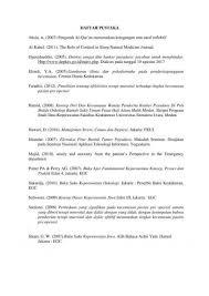 daftar pustaka merupakan format dari 15 macam daftar pustaka beserta contoh dan cara penulisannya