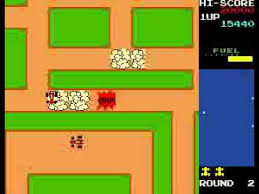 rally x apk rally x arcade ラリーx retro vintage mame namco 1980 mp4