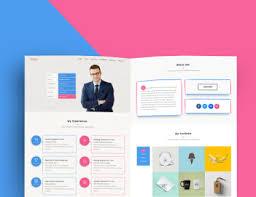 webres free responsive resume template