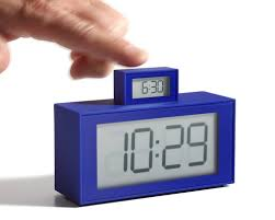 in out alarm clock lexon usa