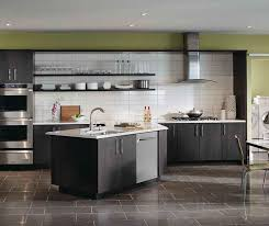grey finish kitchen cabinets gray kitchen cabinets kemper cabinetry