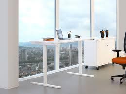 hauteur standard bureau ordinateur bureau individuel modernity avec réglage en hauteur électrique