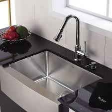 kitchen sinks and faucets stainless steel kitchen sink combination kraususa com