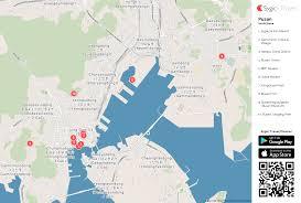 pusan on map pusan printable tourist map sygic travel
