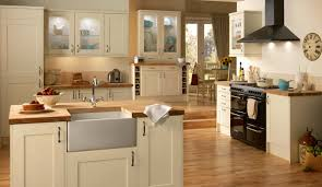 homebase kitchen cabinets homebase portland cream units and beech worktop home ideas