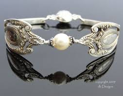 antique sterling silver bracelet images Sterling spoon bracelets by db designs jpg