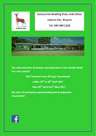 leisure opportunities 30th may 2017 all cape 2017 30 april 6 may 2017 bowls
