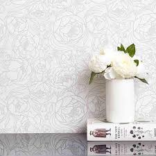 Chasing Paper Removable Wallpaper Peonies U2013 Chasing Paper