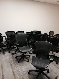 Used Herman Miller Office Furniture by Used Herman Miller Aeron Chairs Size B