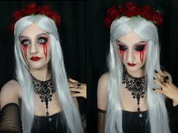 halloween make up tutorial gothic doll youtube