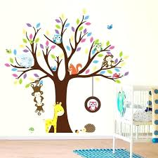 stickers arbre chambre enfant stickers muraux bb garon chambre with stickers muraux bb