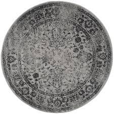 White And Gray Area Rug Amazon Com Safavieh Adirondack Collection Adr109b Grey And Black