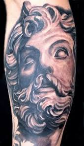 greek god tattoo tattspacecom greek mythology pinterest