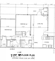 simple floor plan of a house with measurements decohome