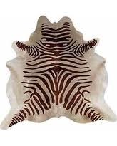 cowhide animal print rugs bhg com shop