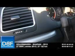 siege sharan occasion annonce occasion volkswagen sharan 2 0 tdi 177 fap bluemotion