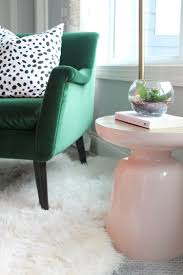 west elm martini table this pink and gold martini table from west elm makes the perfect