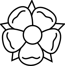 tattoo flower drawings flower outline clipart free download best flower outline clipart