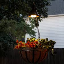 Nature Power Hanging Solar Shed Light by Hanging Solar Accent Light With Attachable Planter Basket Gs 6