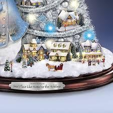 Thomas Kinkade Christmas Tree For Sale by Amazon Com Thomas Kinkade Snowman Pre Lit Christmas Tree Sno
