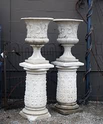 antique garden urns dirt simple