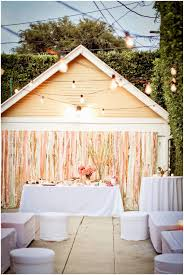 backyards innovative beautiful tablescape for a pink and green