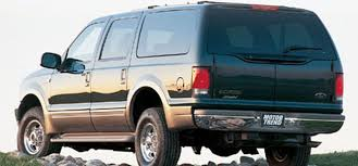 2000 ford excursion 2000 ford excursion limited motor trend