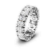 oval cut diamond eternity band okg jewelry