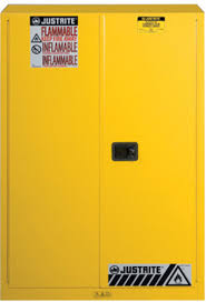 Yellow Flammable Storage Cabinet Justrite 894500 Yellow 45 Gal Sure Grip Ex Flammable Safety Cabinet