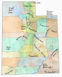 Utah rivers images Water and counties in utah jpg