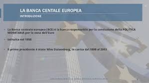 bce sede centrale la centrale europea bce