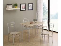 table de cuisine 4 chaises table 4 chaises daily chene grise blanc