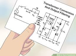 how to test a transformer 12 steps with pictures wikihow