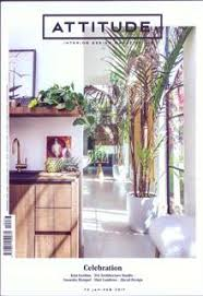 Attitude Interior Design Magazine Subscription Buy At Newsstand - Home interior design magazines