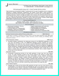 Sample Mainframe Resume by Computer Programmer Resume Free Resume Example And Writing Download
