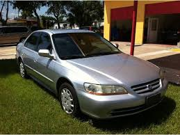 2002 silver honda accord 2002 honda accord lx in florida for sale 10 used cars from 1 970