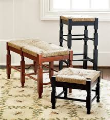 solid wood classic rush seat double bench gifts for 100 and up