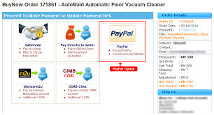 lelong my online shopping paypal in malaysia