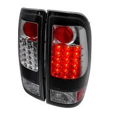 2002 ford f150 tail lights 97 03 ford f150 f250 super duty euro style led tail lights black