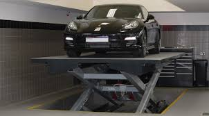 Basement Car Lift Welcome Parking Systems By O Me R S P A