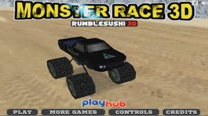 3d monster truck racing monster truck game play for kids 3d race crazy speed cars