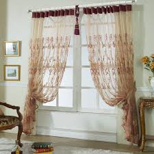 Embroidered Sheer Curtains Delicate Embroidery Sheer Curtains Decorative