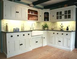 image of distressed white kitchen cabinets stylewill go out style